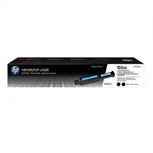 HP 103AD W1103AD Black Neverstop Dual Pack Toner Cartridge price in hyderabad, telangana, nellore, vizag, bangalore