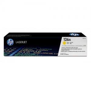 HP 126A CE312A Yellow LaserJet Toner Cartridge price in hyderabad, telangana, nellore, vizag, bangalore