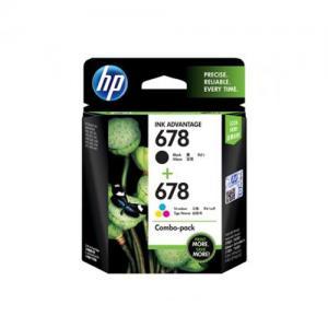 HP 678 L0S24AA Combo Black Tri color Ink Cartridge price in hyderabad, telangana, nellore, vizag, bangalore