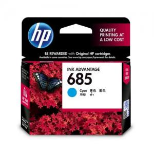 HP 685 CZ122AA Cyan Original Ink Cartridge price in hyderabad, telangana, nellore, vizag, bangalore