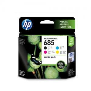 HP 685 F6V35AA CMYK Ink Cartridge Combo 4 Pack price in hyderabad, telangana, nellore, vizag, bangalore