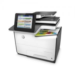 HP PageWide Enterprise Color MFP 586dn Printer price in hyderabad, telangana, nellore, vizag, bangalore